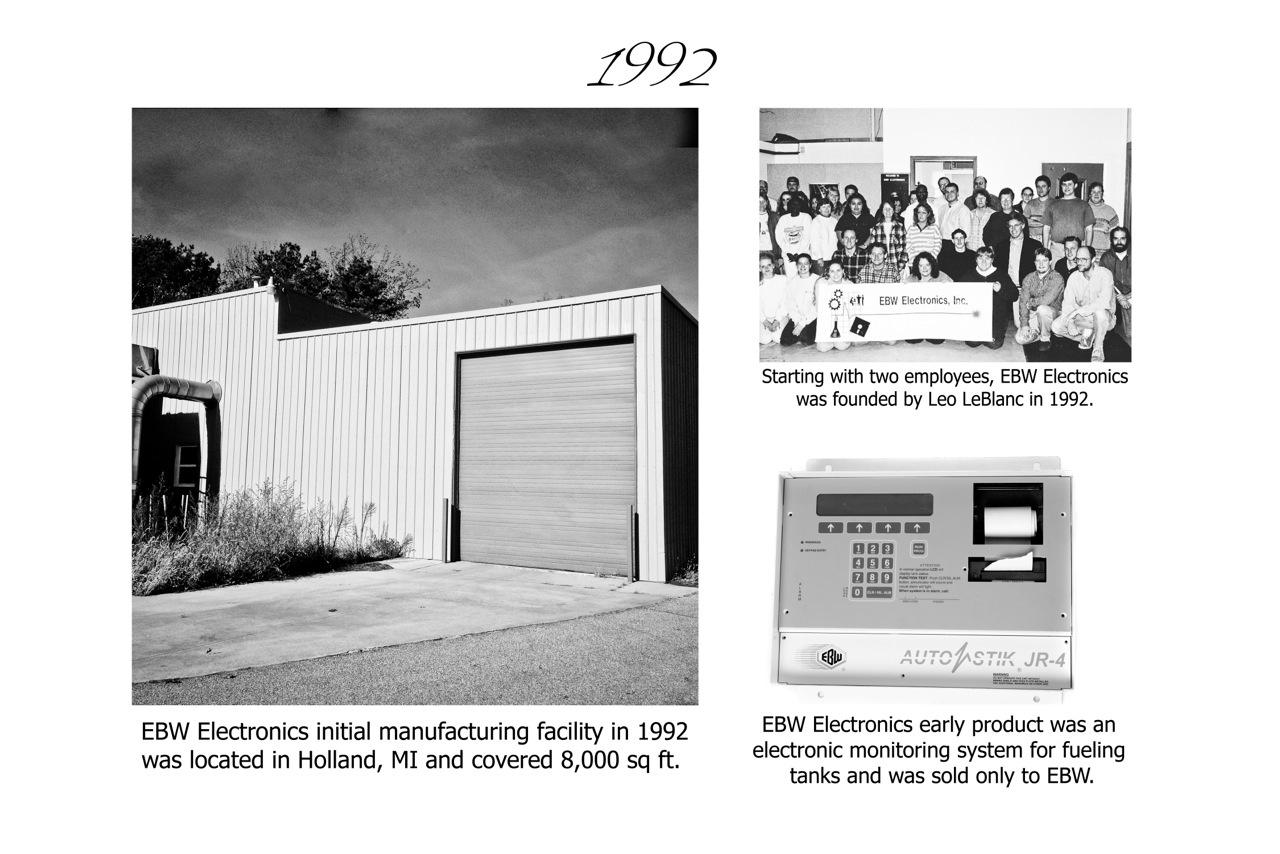 EBW Electronics 1992