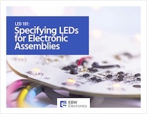 LEDs for electronic assemblies