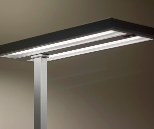 light in office